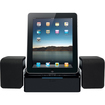 iLuv - IMM747BLK Sync/Charge Dock With Speaker for iPad® - Black