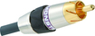 Monster - 400 3.3' Digital Coaxial Audio Cable - Black/Silver