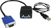 Startech - 2-Port VGA Video Splitter - Black