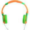iDance - Crazy On-Ear DJ Headphones - Orange/Green