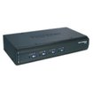TRENDnet - 4-Port USB / PS/2 KVM Switch Kit w/ Audio