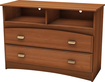 "South Shore - Imagine TV Stand/Storage Unit for Flat-Panel TVs up to 40"" - Cherry"