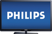 "Philips - 50"" Class ( 49-5/8"" Diag.) - LCD - 1080p - 60Hz - HDTV"