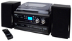 Jensen - 4W 2-CD Stereo System with CD Recorder - Black