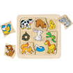 Get Ready - What do I Eat? Matching Wood Puzzle