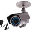 "VideoSecu - CCTV Day Night Vision 1/3"" Sony CCD Outdoor Security Camera with Power 3CW - Silver"