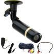 VideoSecu - Audio Video Wide Angle Lens built-in Sony CCD weatherproof Security Camera CFB - Black