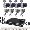 VideoSecu - 8 Channel Network DVR Digital Video Recorder 2TB & IR Day Night Outdoor Security Camera 1TM