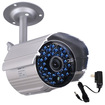 VideoSecu - 36LEDs Infrared Day Night Vision 520TVL Weatherproof Surveillance Camera WK4 - Silver