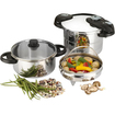 Fagor - Futuro Pressure Cooker Set - Stainless Steel