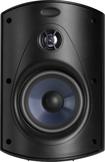 """Polk Audio - Atrium6 5-1/4"""" Outdoor Speakers (Pair) - Black"""