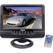 Pyle - 9-Inch Battery Powered TFT/LCD Monitor with MP3/MP4/USB/SD/MMC Card Player - Multi