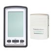 AGPtek - Digital LCD Wireless Weather Station Thermometer Temperature Sensor Alarm Clock Remote Sensor