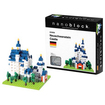 nanoblock - nanoblock Sites to See Level 3 - Neuschwanstein Castle: 550 Pcs