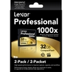 Lexar - 32GB Professional 1000x CompactFlash (2-Pack)