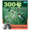Buffalo Games - Hummingbirds and Fuschia Large Piece Puzzle: 300 Pcs