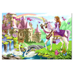 Melissa & Doug - Fairy Tale Castle Floor Puzzle: 24 Pcs