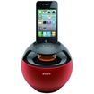 Sony - RDPV20IP/RED Portable Dock Speaker for iPod® and iPhone® - Red
