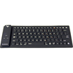 Brookstone - Bluetooth Silicone Keyboard for iPad® Tablet