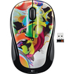 Logitech - Wireless Mouse - Designed-for-Web Scrolling - 2.4 GHz - USB - Liquid Color - Liquid Color