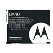 Motorola - BX40 3.7V DC Li-Ion Rechargeable Cell Phone Battery f/ Motorola Cell Phones MOTORAZR2 V8 MOTO U9