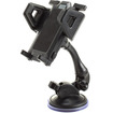 USA Gear - Universal Car Windshield Dashboard Suction Mount Holder for Apple and Android Smartphones - Black - Black