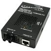 Transition Networks - 100BASE-TX to 100BASE-FX Media Converter - Black