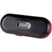 iSound - 2.0 Home Audio Speaker System - iPod Supported - Pack of 1 - Black, Red - Black, Red
