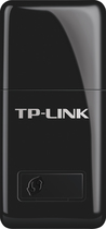 TP-LINK - Mini Wireless N USB Adapter - Black