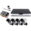 Zmodo - 8 CH CCTV Surveillance DVR Outdoor Camera System No Hard Drive - Multi