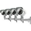 SVAT - 4 Ultra Resolution Security Cameras w/ 100ft Night Vision & IR Cut Filter