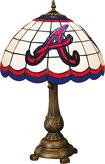 Memory Company - Atlanta Braves Tiffany Lamp
