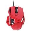 Mad Catz - MCB437050013/04/1 R.A.T.5 OPTICAL MOUSE - Red - Red