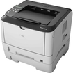 Ricoh - Aficio SP 3510DN Laser Printer - Monochrome - 1200 x 1200 dpi Print - Plain Paper Print - Desktop - Black