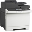 Lexmark - CX410E Color Laser Multifunction Printer - Gray