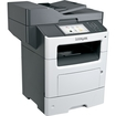 Lexmark - MX611DHE Multifunction Laser Printer - Gray