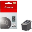 Canon - Canon PG-40 Ink Cartridge - Black - Black - Inkjet - 1 Each - Black