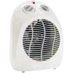 Lorell - Four-Setting Portable Heater Fan - Light Gray - Light Gray