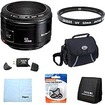Canon - EF 50mm F/1.8 II Standard Auto Focus Lens Exclusive Pro Kit