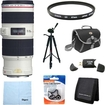 Canon - EF 70-200mm f/4L IS USM with Case and Hood Exclusive Pro Kit