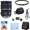 Canon - EF-S 17-55mm F/2.8 IS USM Wide Angle Zoom Lens Exclusive Pro Kit