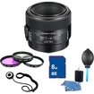 Sony - SAL50M28 50mm f/2.8 Macro Lens Essentials Kit