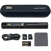 VuPoint Solutions - Magic Wand Portable Scanner with Carrying Case + 4GB microSD Card