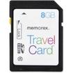 Memorex - TravelCard 8 GB Secure Digital High Capacity (SDHC)