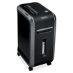 Fellowes - Powershred 90S Strip-Cut Shredder - Black, Dark Silver
