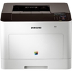 Samsung - Laser Printer - Color - 9600 x 600 dpi Print - Plain Paper Print - Desktop - White