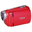 Vivitar - Digital Video Camera Camcorder - Strawberry Red