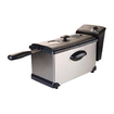 Continental Electric - Deep Fryer, 3.0 L. (Manual) - Stainless Steel - Stainless Steel