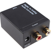 AGPtek - Monoprice Digital Coax Optical Toslink to L/R Stereo Audio Converter - External