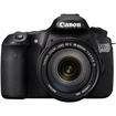 Canon - EOS 60D 18 MP SLR Digital Camera w/ 18-135 Lens w/ 70-300 IS USM Lens - Black